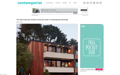 Contemporist featured our San Francisco Eichler Remodel