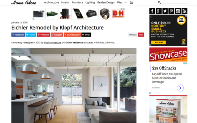 Home Adore Featured our Palo Alto Eichler Remodel