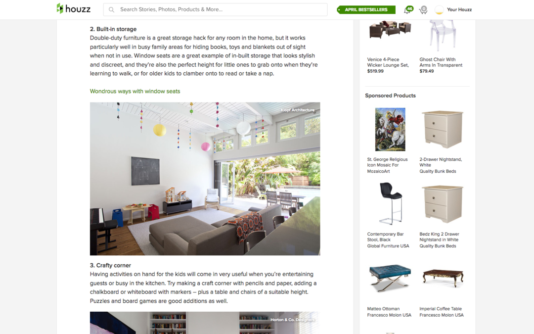 Houzz Features our Early Eichler Remodel