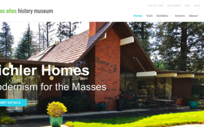 Los Altos History Museum; Eichler Home Remodels: Updating the Classics