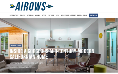 Airows features our San Carlos Midcentury Modern Remodel