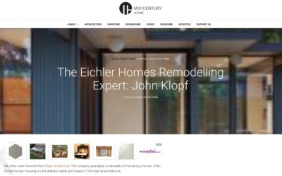 Mid-Century Modern interview with John Klopf