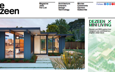 Dezeen features our Mid-Mod Eichler Addition Remodel