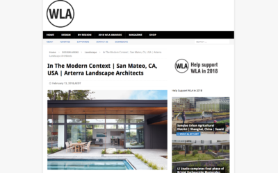 World Landscape Architectect features our Glass Wall House