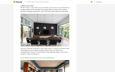 Houzz features our San Carlos Midcentury Modern Remodel