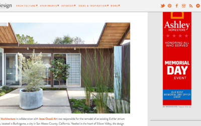 One Kind Design features our Burlingame Eichler Remodel