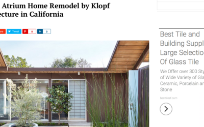 Home World Design features our Burlingame Eichler Remodel