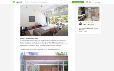 Houzz features our Early Eichler Expansion