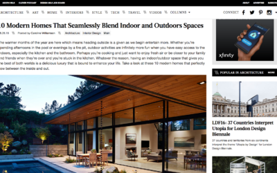 Design Milk features our Glass Wall House