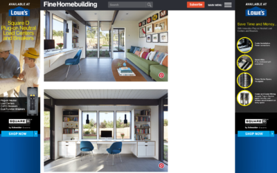 Fine Homebuilding Magazine features our Mid-Mod Eichler Addition Remodel
