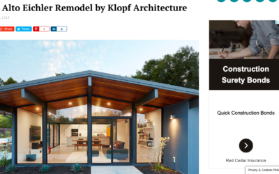 Home World Design features our Palo Alto Eichler Remodel