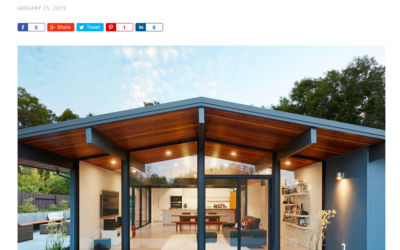 Architecture Art Design features our Palo Alto Eichler Remodel