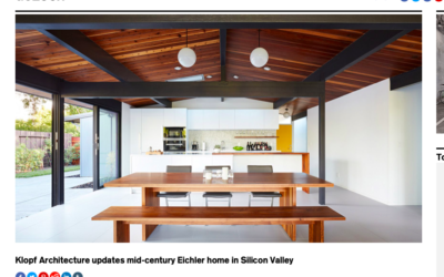 Dezeen features our Palo Alto Eichler Remodel