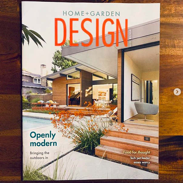 Home+Garden Design Magazine features our Los Altos New Residence