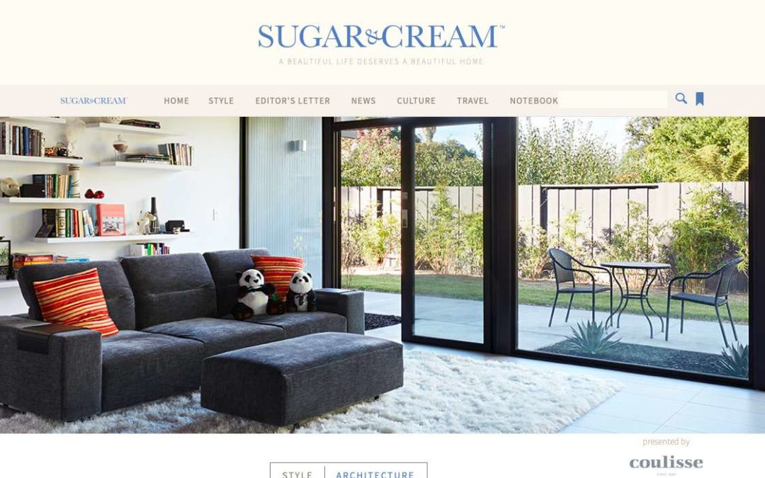 Sugar and Cream features our Eichler Remodel