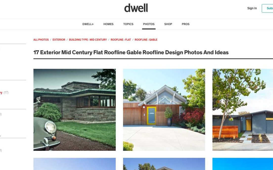 Dwell features our Mid Century Modern Remodels