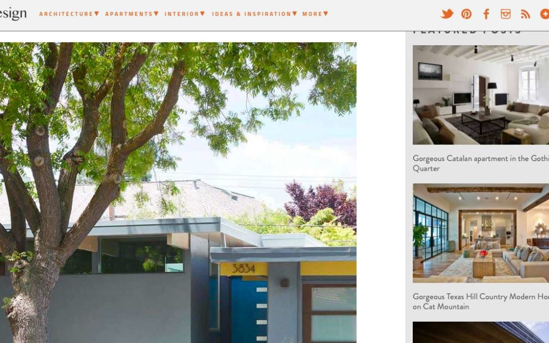 One Kind Design features our Brown and Kaufman Remodel