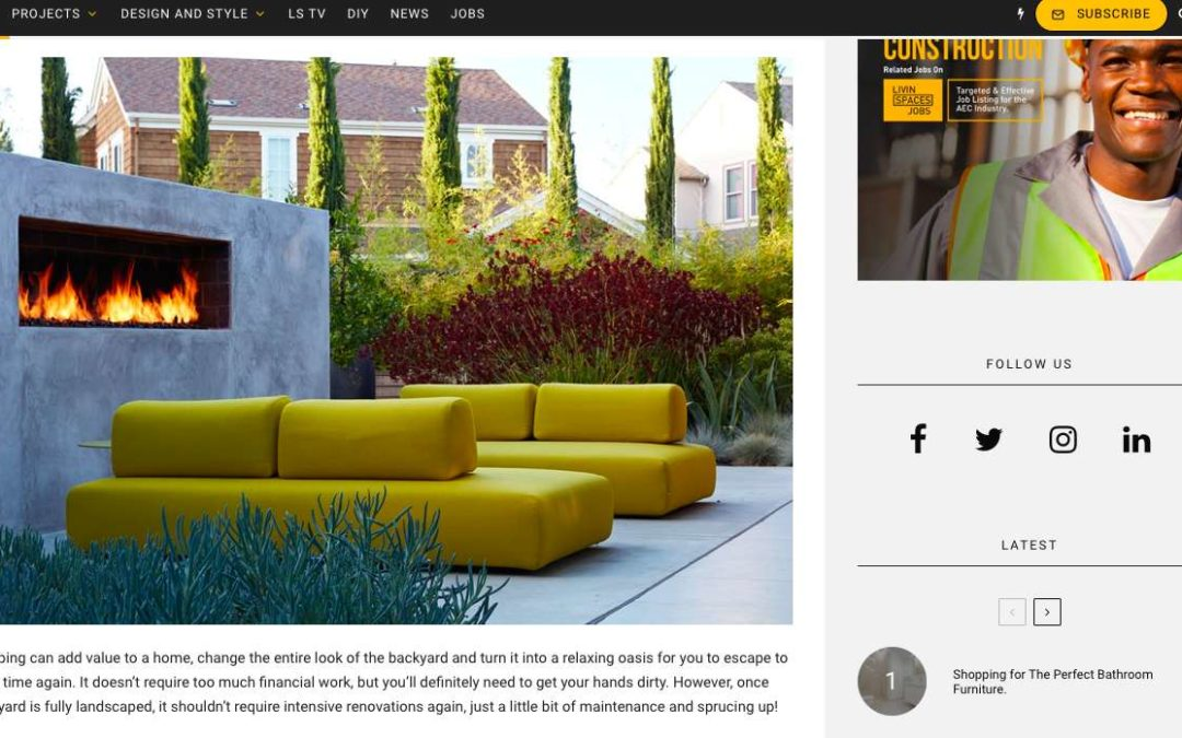 Livinspaces features our Eichler Remodel