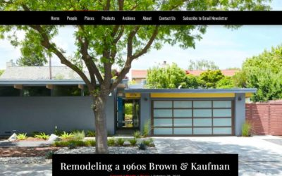 Architects and Artisans features our Eichler Remodel