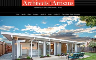 Architects and Artisans Features our Foster City Eichler Remodel