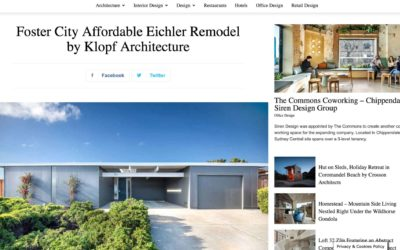 Home WorldDesign Features our Foster City Eichler Remodel