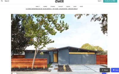 Dwell features our Palo Alto Eichler Remodel