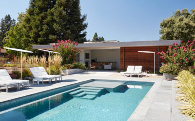 Architecture Art Design Features our Sonoma Pool House and Guest House