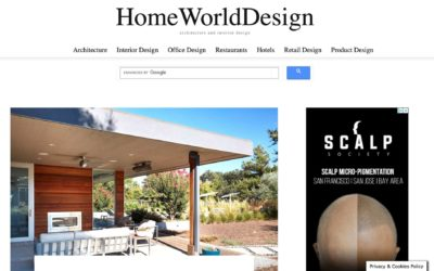 Home World Design Features our Sonoma Pool House and Guest House