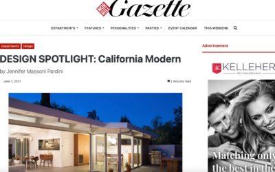 San Francisco's Nob Hill Gazette features John Klopf in the Design Spotlight