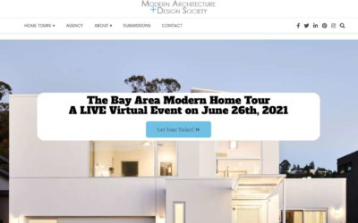 2021 Bay Area Modern Home Tour Series on June 26th