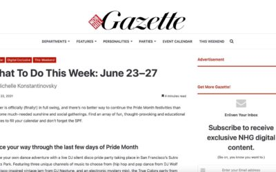 Nobhill Gazette features Bay Area Modern Home Tour Series on June 26th