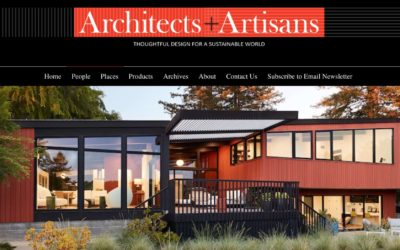 Artists and Artisans Features our Stanford Mid-Century Modern Remodel Addition