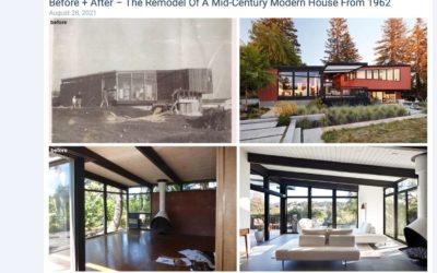 Contemporist Features our Stanford Mid-Century Modern Remodel Addition